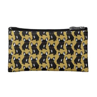 Brindle French Bulldog Cosmetic Bag
