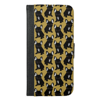 Brindle French Bulldog iPhone 6/6s Plus Wallet Case