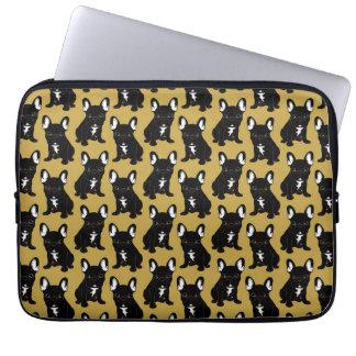 Brindle French Bulldog Laptop Sleeve