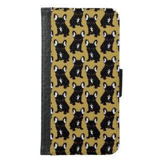 Brindle French Bulldog Samsung Galaxy S6 Wallet Case