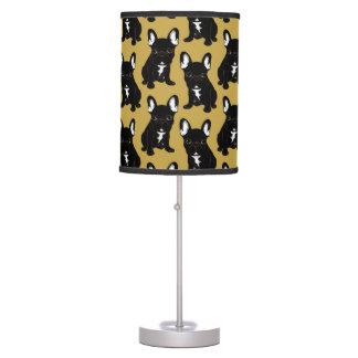 Brindle French Bulldog Table Lamp