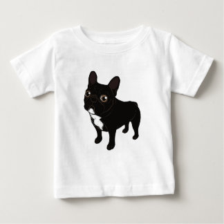 Brindle Frenchie likes to go for a walk Baby T-Shirt