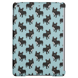 Brindle Frenchie likes to go for a walk Case For iPad Air