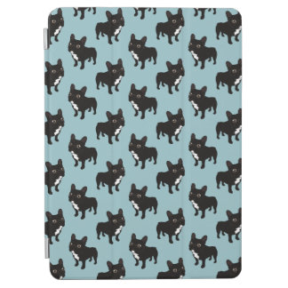 Brindle Frenchie likes to go for a walk iPad Air Cover