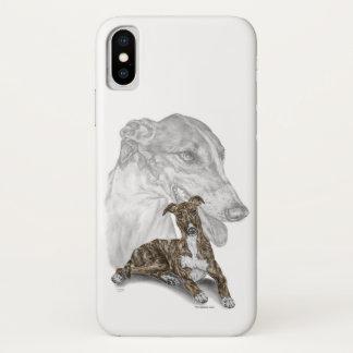 Brindle Greyhound Dog Art Case-Mate iPhone Case