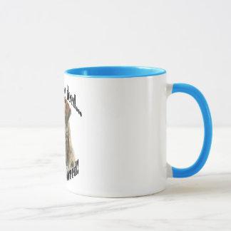 Brindle Mastiff Punish the Deed Mug