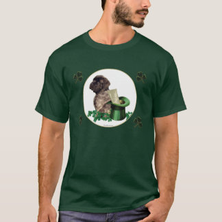Brindle Mastiff pup Shamrock T-Shirt