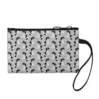 Brindle Pied Frenchie Puppy Coin Purse