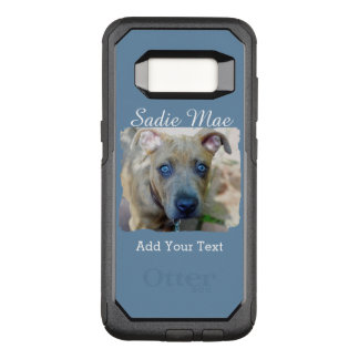 Brindle Pit Bull Puppy by Shirley Taylor OtterBox Commuter Samsung Galaxy S8 Case