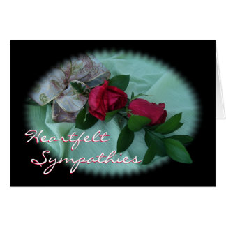 Brindle Rose Spray-customize any occasion Card