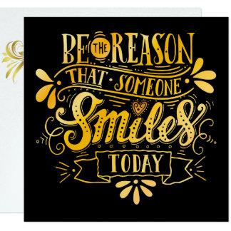 Bring a Smile to Someone Invitation