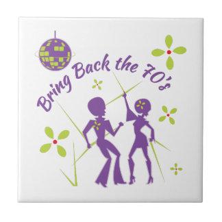 Bring Back 70s Ceramic Tiles