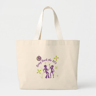 Bring Back 70s Large Tote Bag