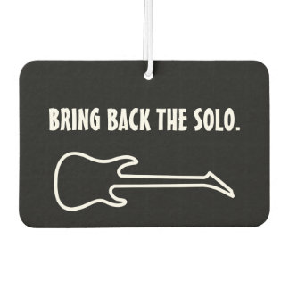 Bring Back The Solo Car Air Freshener