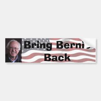 Bring Bernie Back Bumper Sticker
