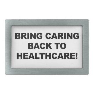 Bring Caring Back to Healthcare Belt Buckles