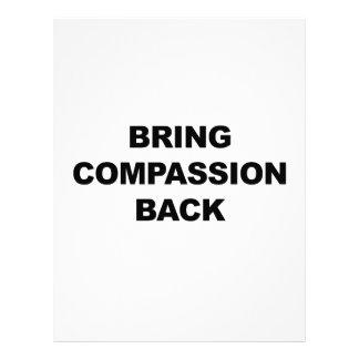 Bring Compassion Back Custom Letterhead