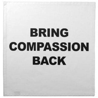 Bring Compassion Back Napkin