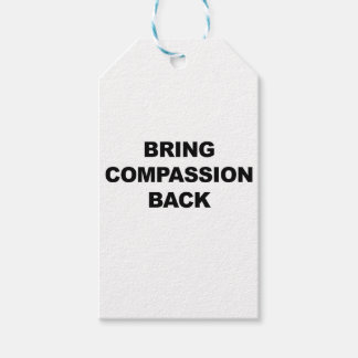 Bring Compassion Back Pack Of Gift Tags