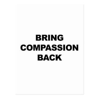 Bring Compassion Back Postcard