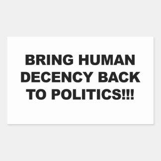 Bring Human Decency Back