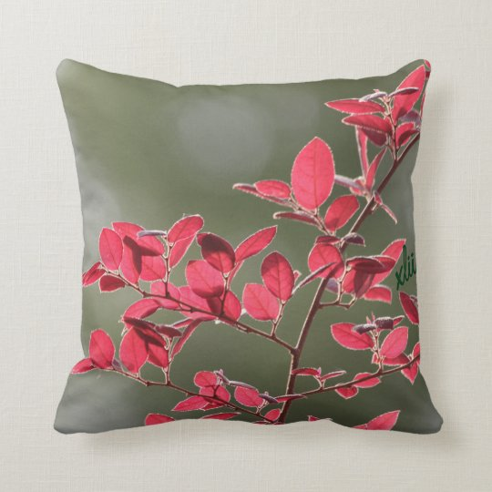 Bring in Spring... Throw Pillow