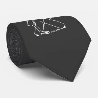 Bring It Hockey Goalie Tie