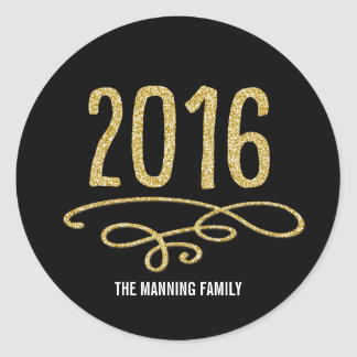 Bring It On 2016 Happy New Year Sticker
