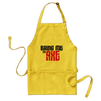 Bring me my Axe (Guitar Month) Standard Apron