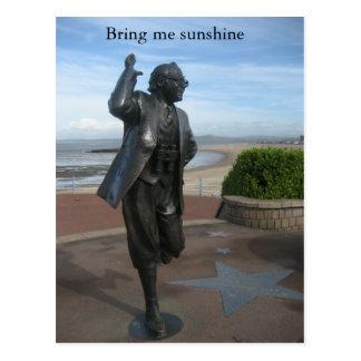 Bring me sunshine postcard