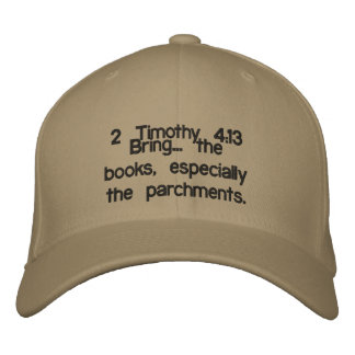Bring ME the books! Embroidered Hat