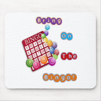 Bring On The Bingo design2.png Mouse Pad