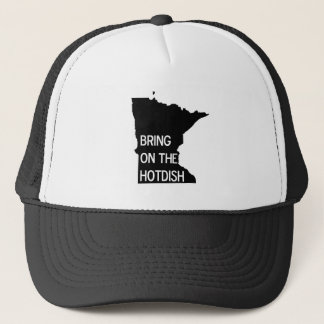 Bring on the Hotdish Funny Minnesota Trucker Hat