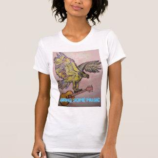 Bring Some Music Fish Hawk T-Shirt