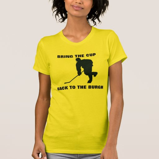 BRING THE CUP BACK TO THE BURGH TEE SHIRT
