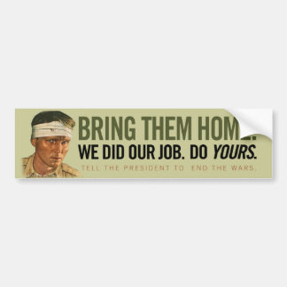 Bring Them Home Bumper Sticker