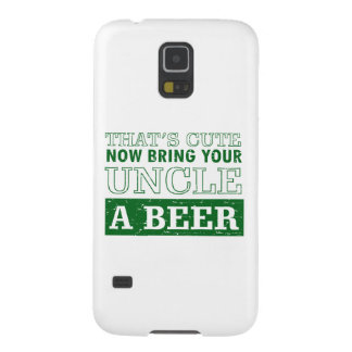 Bring Uncle a Beer Galaxy S5 Cover
