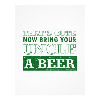 Bring Uncle a Beer Letterhead
