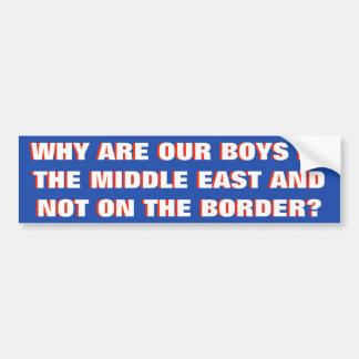 Bring Uor Boys Home Bumper Sticker