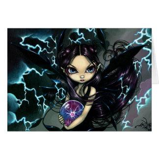 """Bringer of Lightning"" Greeting Card"