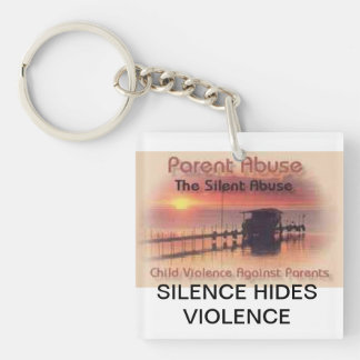 Bringing Awareness to Parental Abuse Keychain