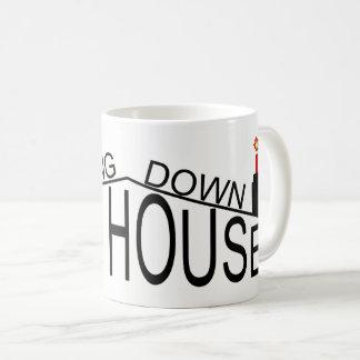 Bringing Down The House wraparound logo mug