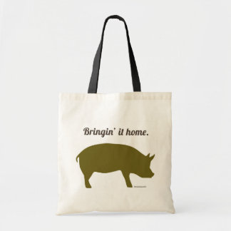 Bringing home the bacon Shopping Bag