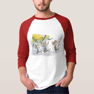Bringing In The Christmas Cheese T-Shirt