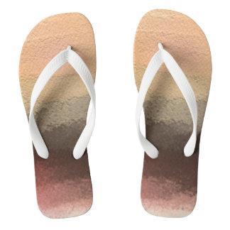 Bringing Sand to the Beach Flip Flop Sandals