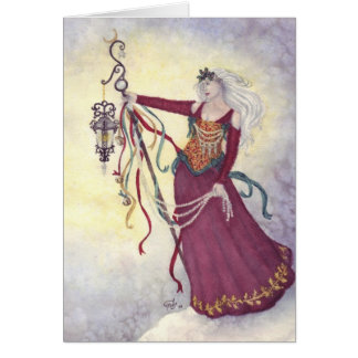 """""""Bringing Yuletide Magic"""" Card"""