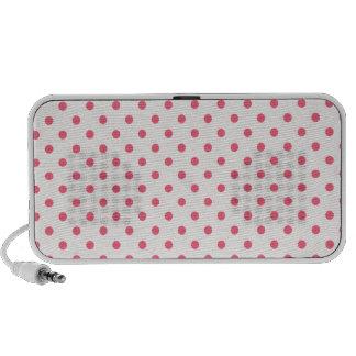 Brink Pink Polka Dots Notebook Speaker