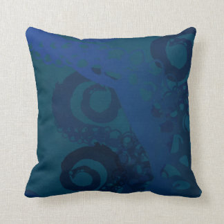 Briny Depths Throw Pillow
