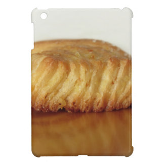 Brioche on a wooden table with granulated sugar iPad mini cases