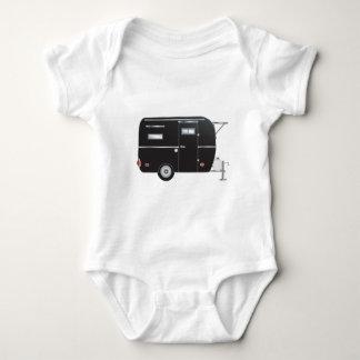 """Briquet"" The Boler Travel Trailer Baby Bodysuit"